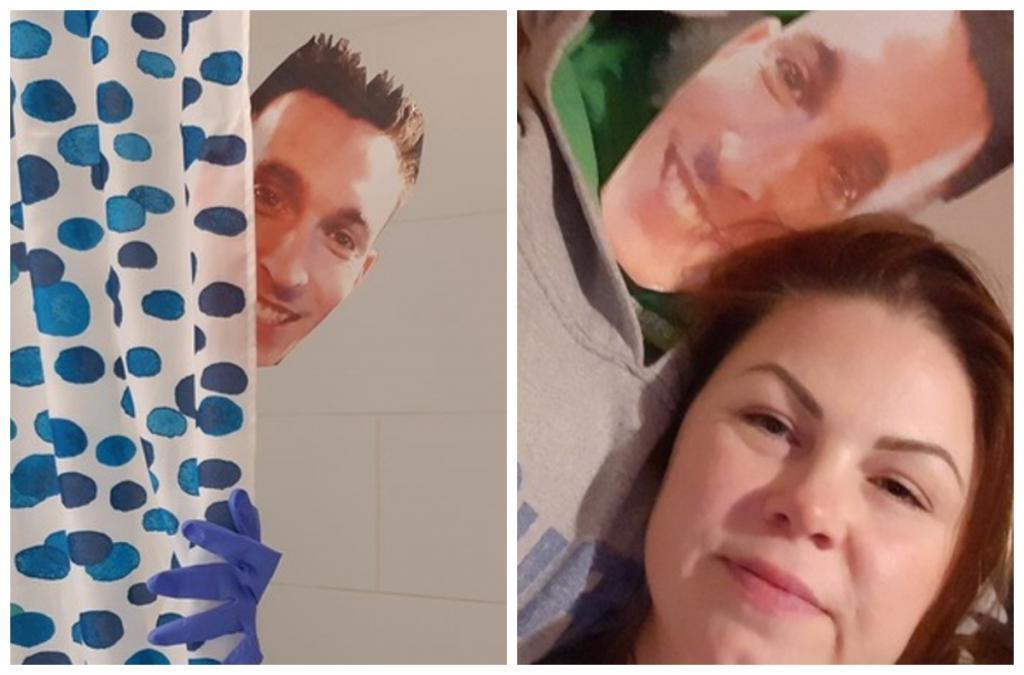 Когда очень скучаешь: женщина сделала копии своего парня, с которым находится в вынужденной разлуке