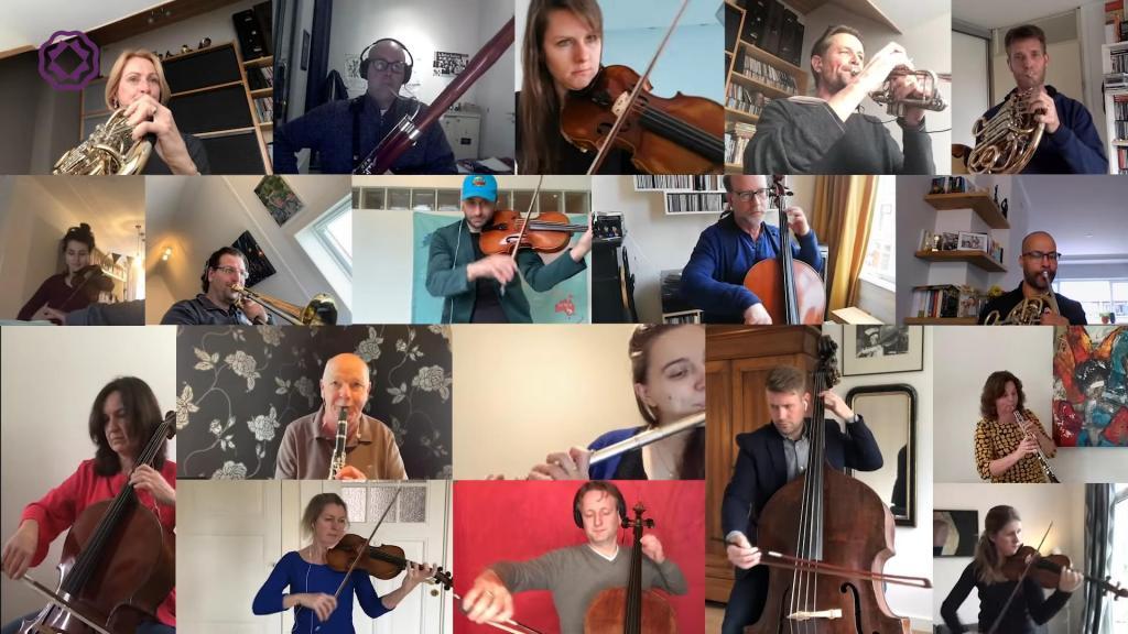 20 голландских музыкантов исполняют мелодию Бетховена из своих домов: результат впечатляет