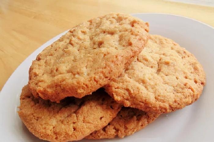 Арахисовое печенье всего из трех составляющих (вкусно, просто, необычно): рецепт