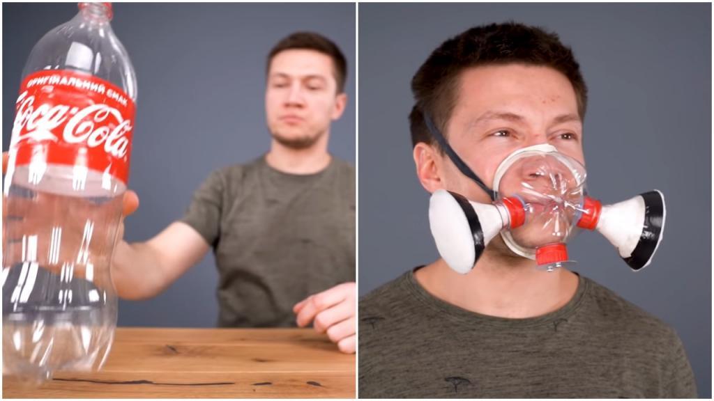 Просто для удовольствия: как самому сделать маску для лица из обычной пластиковой бутылки