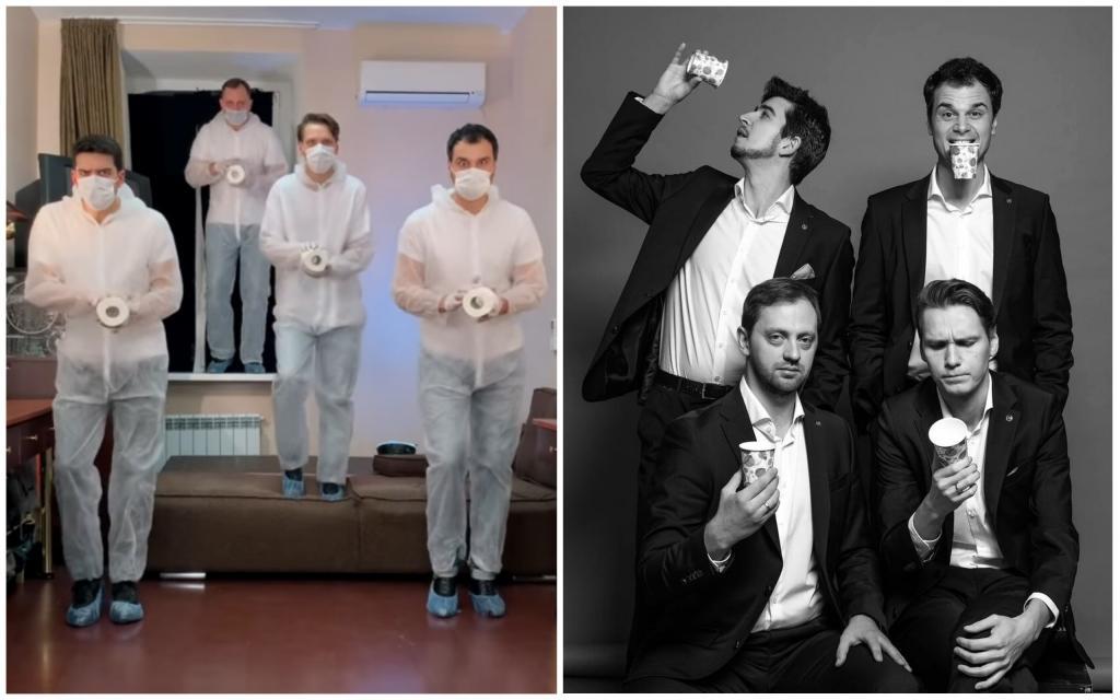 Они насмешили весь Интернет танцем про коронавирус и гречку. Что известно про участников группы Заячий стон