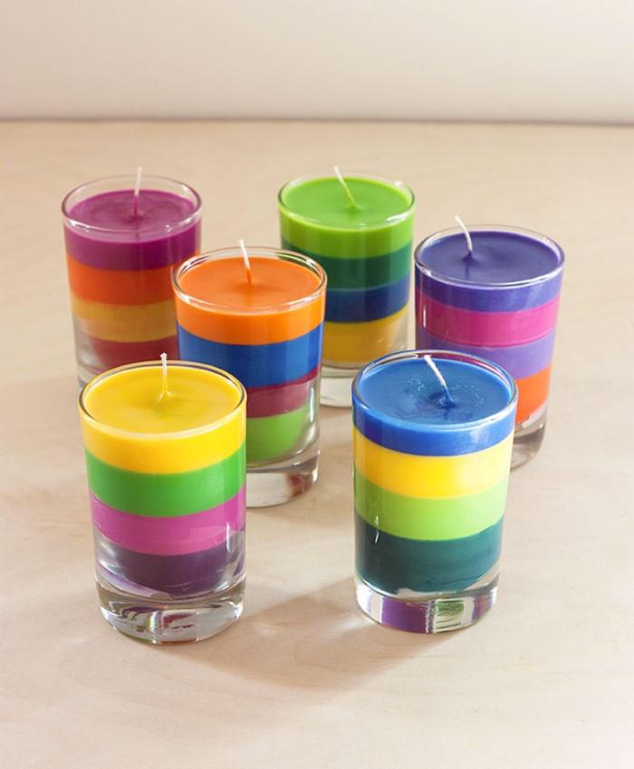 Украшаем дом вместе с детьми, или Как сделать яркую свечу  Карандаш : инструкция