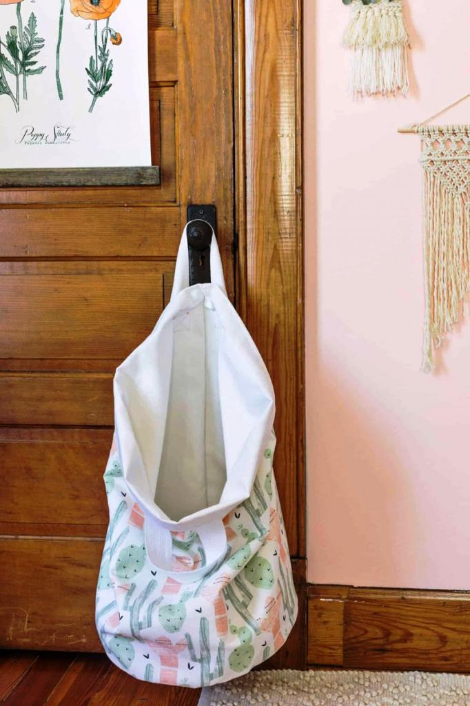 Сделайте практичную корзину для белья своими руками: пошаговые фото с инструкцией
