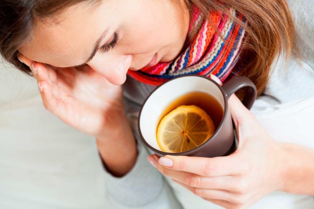 Врачи рассказали, почему нельзя пить горячий чай во время вирусных заболеваний