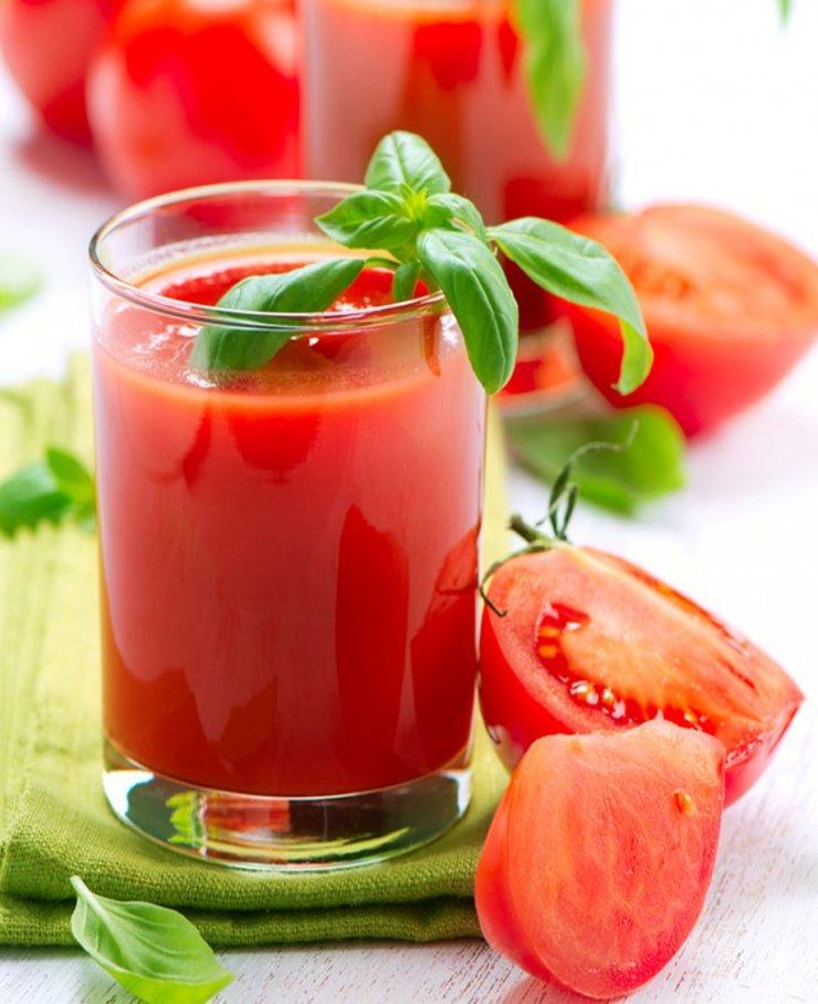 Сок из помидор для похудения