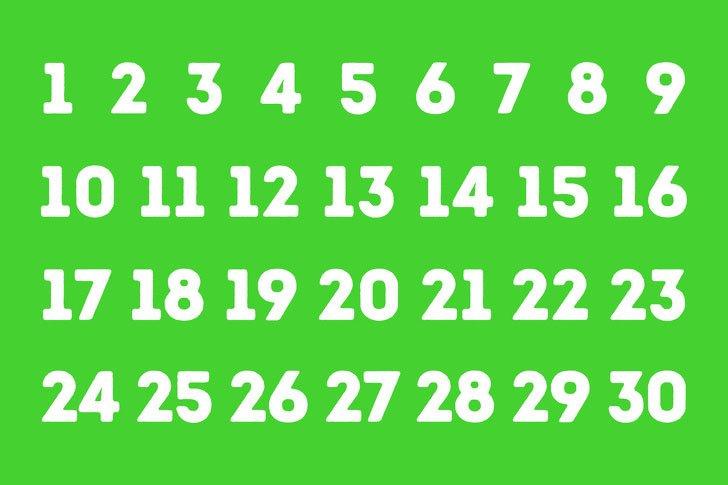 Странный цветовой тест, который может угадать ваши мысли: выберите число и следуйте инструкции