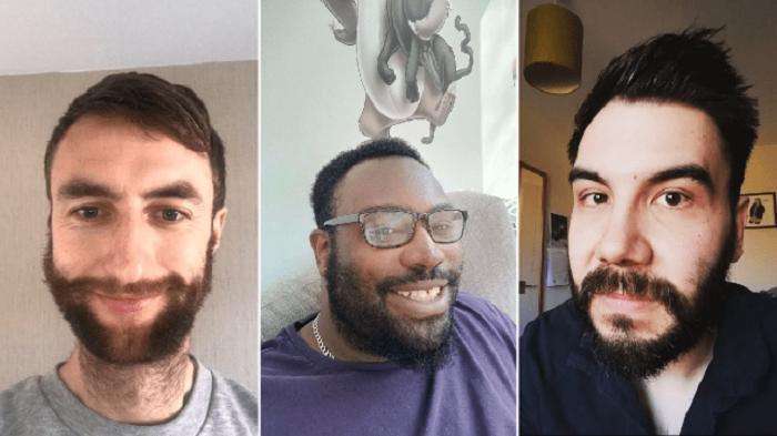 Мужчины, которые ранее не могли этого сделать, отращивают бороды, сидя на карантине: (фото)