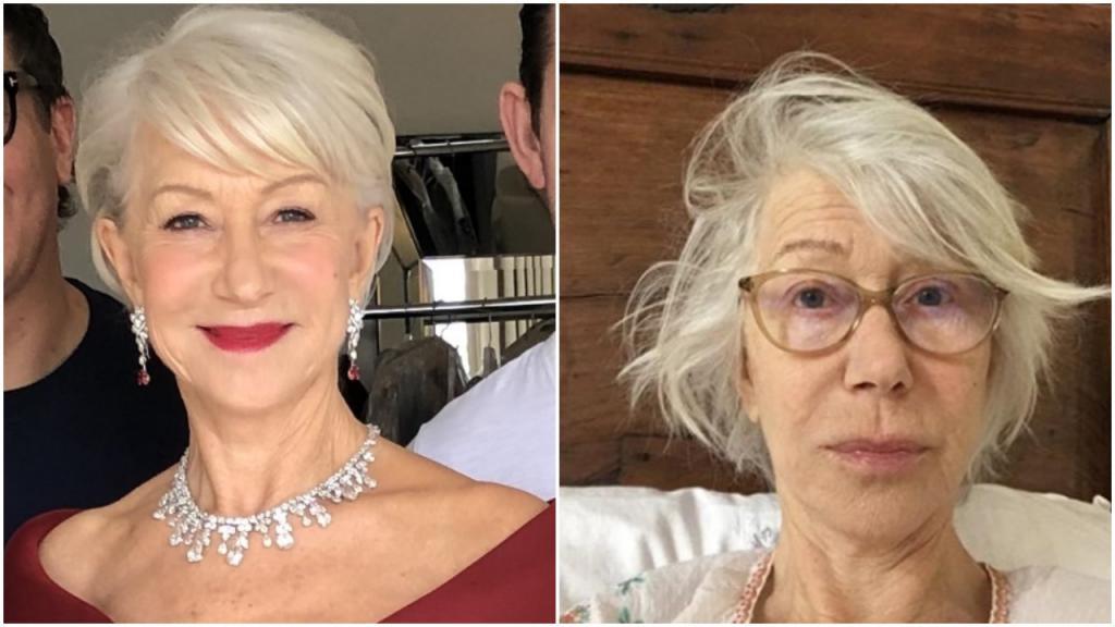 74-летняя актриса опубликовала свое фото без макияжа, а взамен попросила всех внести вклад в борьбу с вирусом