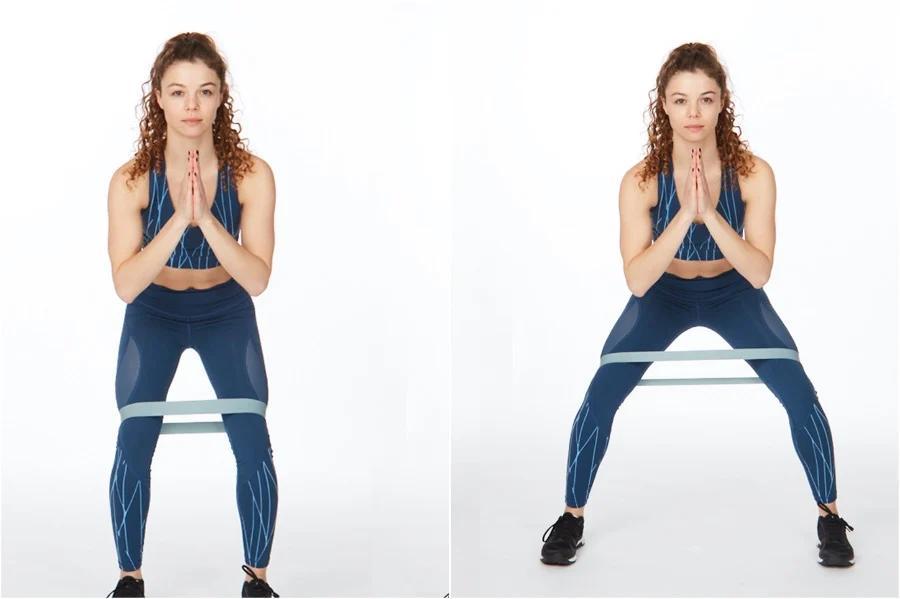 ejercicios con bandas elásticas para hacer en casa
