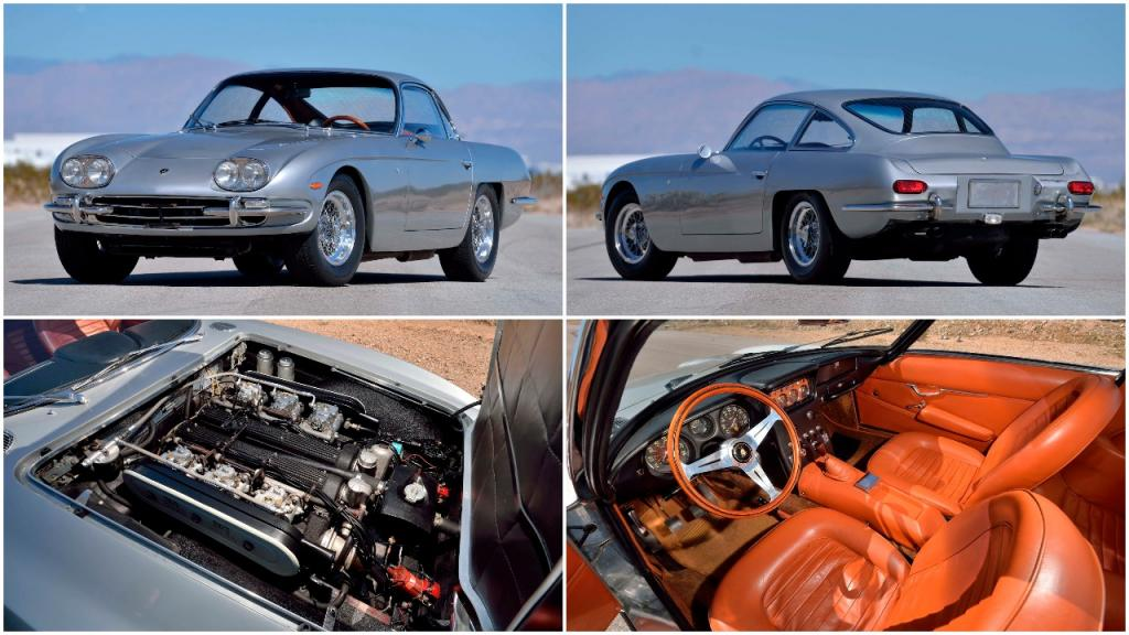 Ламборгини 400 GT 1967 года не идеален, но 320 «лошадей» под капотом и 45 062 км на одометре сглаживают первое впечатление