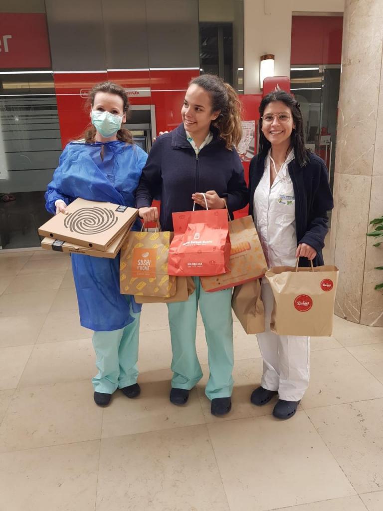 Португальские шеф повара, рестораны и отели нашли способ работать во время пандемии, чтобы кормить медперсонал и нуждающихся