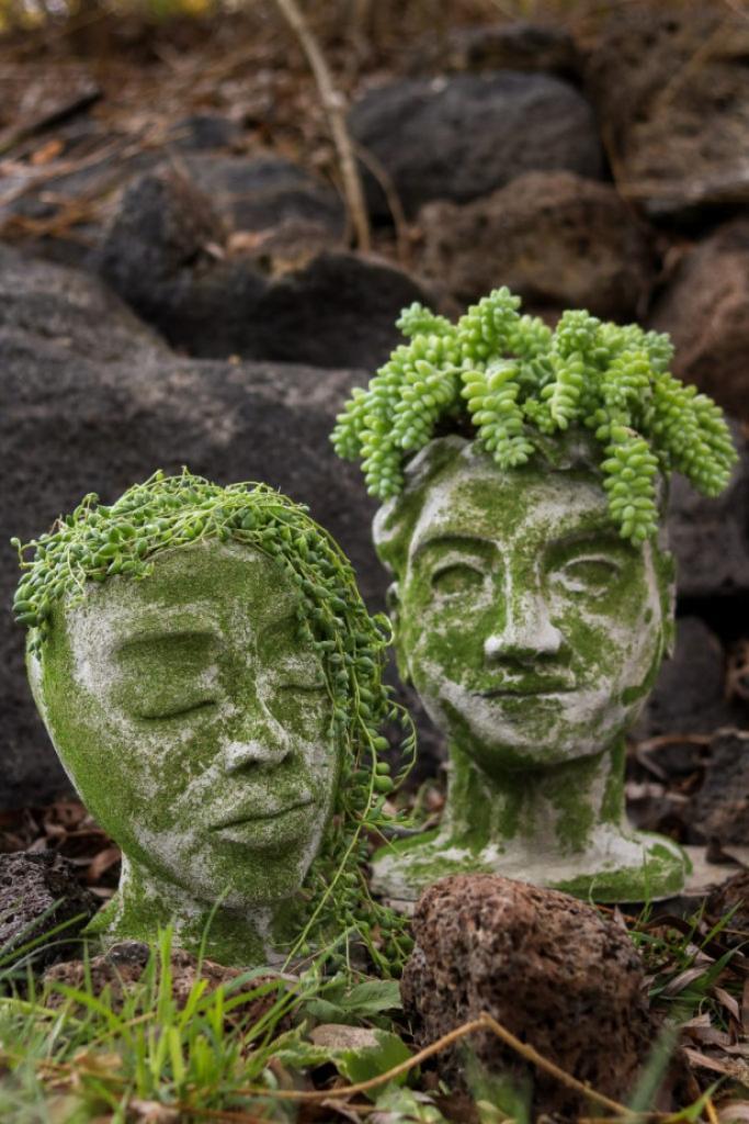 Украшение для сада или дачи в античном стиле: делаем красивые скульптуры своими руками