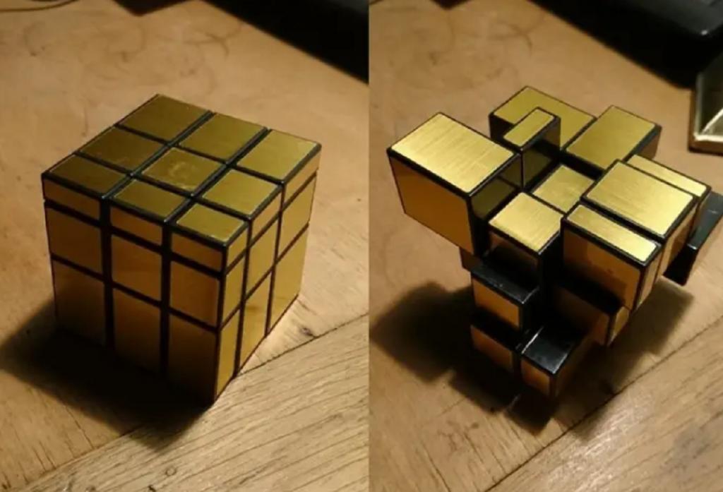 Кубик Рубика из деталей разных размеров: вещи, на которые мы посмотрим несколько раз и все равно не поймем, в чем же дело