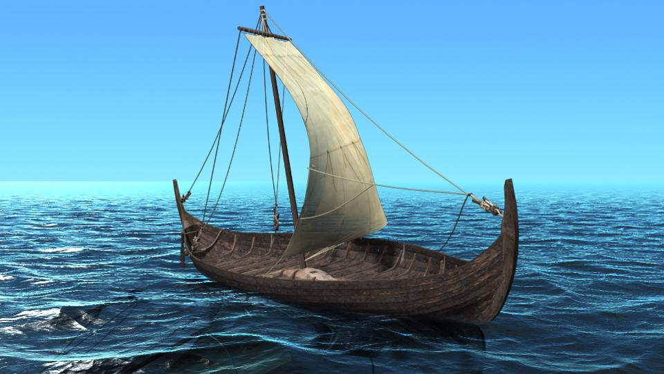 Цифровая реконструкция помогла найти самый быстрый корабль викингов из всех обнаруженных