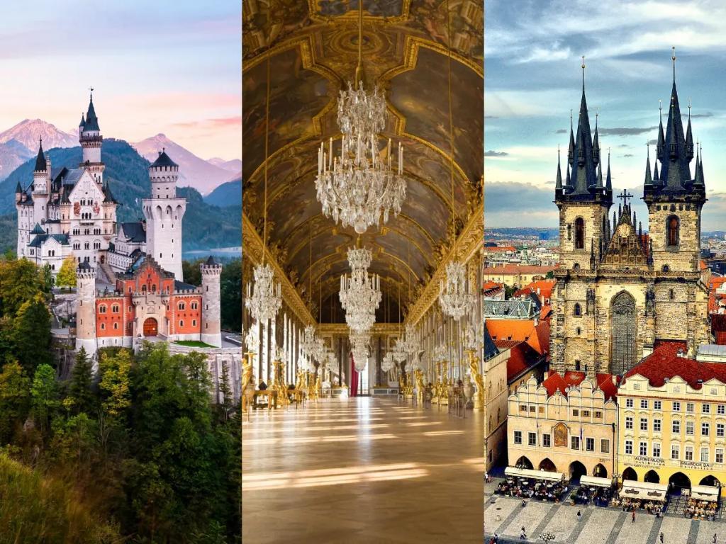 Виндзорский замок, Версаль, Екатерининский дворец и другие замки и королевские резиденции, которые можно посетить, не вставая с дивана