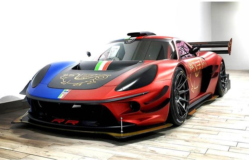 Отличная мощность и управляемость: итальянский производитель ATS Automobili представляет ATS RR Turbo