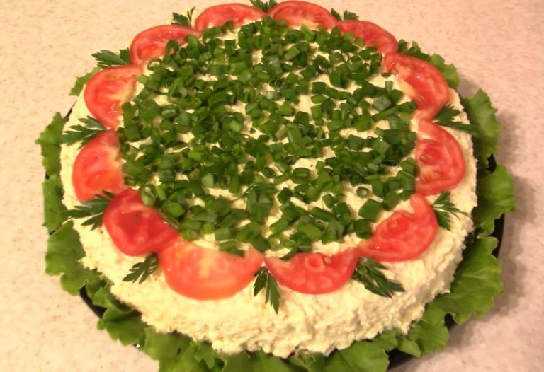 Ни один праздник в моем доме не обходится без салата торта: все, кто пробовал, всегда просят рецепт