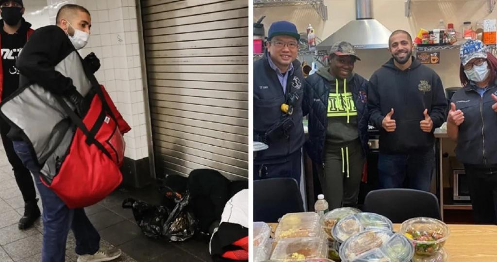 Владельцам пришлось закрыть свой маленький ресторан, но они не перестали готовить обеды для бездомных