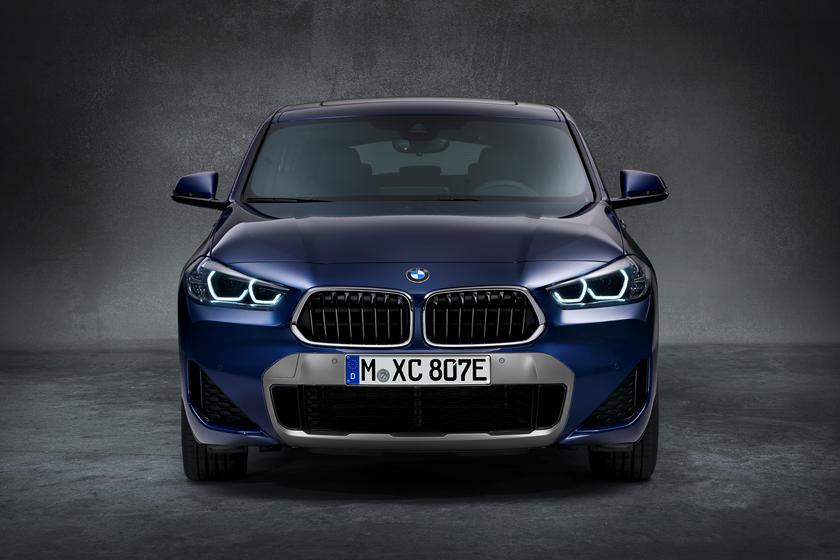 Модель с подключаемым модулем: представлен обновленный гибрид BMW X2