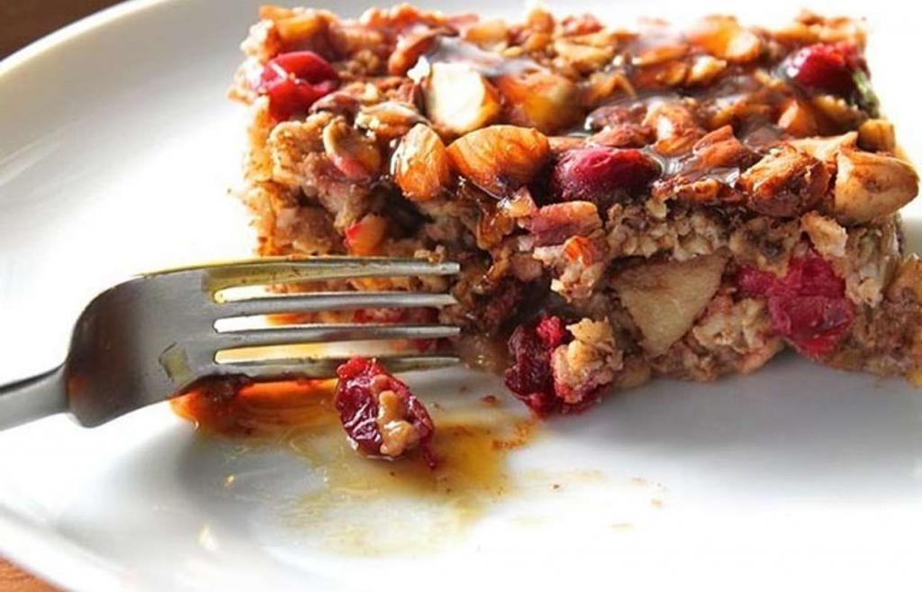 Необыкновенный рецепт яблочно-черничного хрустящего десерта! Готовится за 15 минут