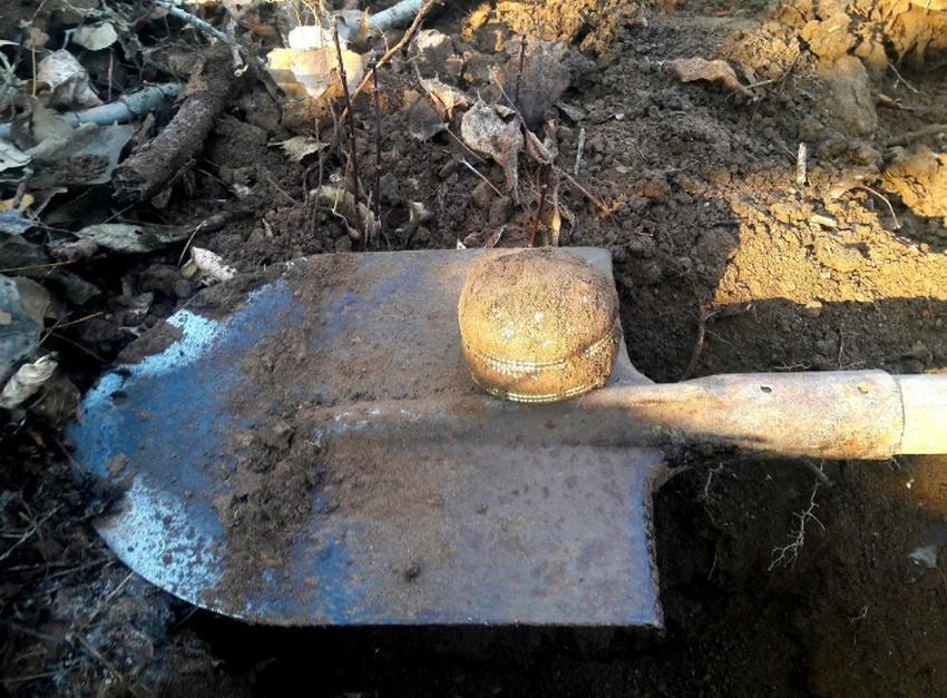 Мужчина выкопал из земли красивую шкатулку, но заглянув внутрь, зарыл ее обратно