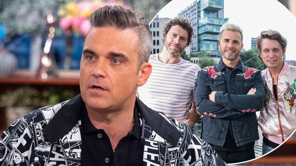 Робби Уильямс присоединился к Take That: 29 мая группа сыграла виртуальный концерт