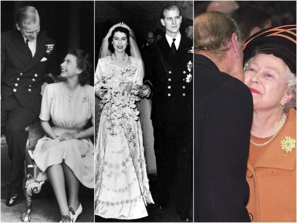 Любовь по королевски: фотографии, демонстрирующие, как зарождались и укреплялись отношения Елизаветы II и ее супруга
