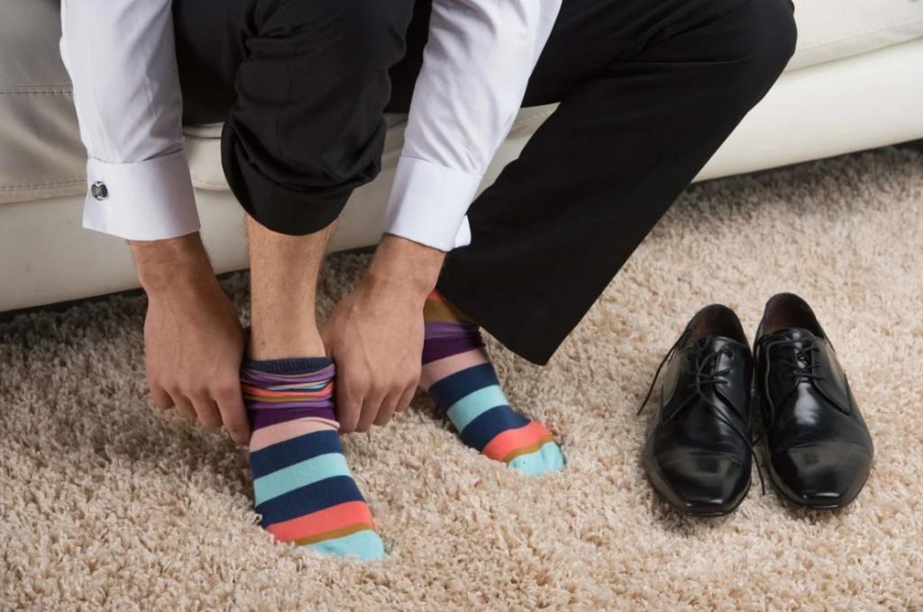 Как носки мужчины выдают его сущность (простые наблюдения, которые не подводили)