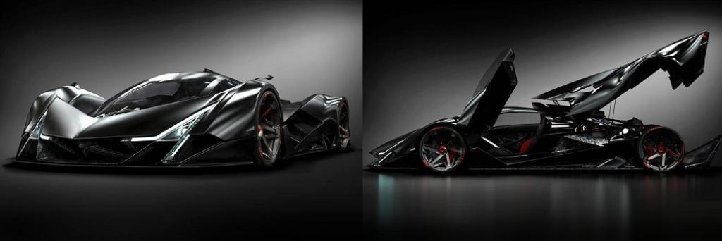 Будет ли конкурент у Bugatti Chiron: Марк Хостлер представил концепцию гиперкара Devel Sixteen на 5000 л.с.