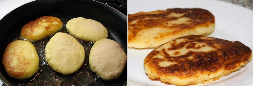 Готовлю картофельные пирожки с грибным соусом: получается оригинально и вкусно