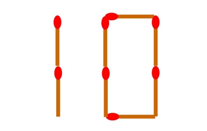 Переместите 1 спичку, чтобы число 10 стало числом 5: две задачи, с которыми справляются единицы