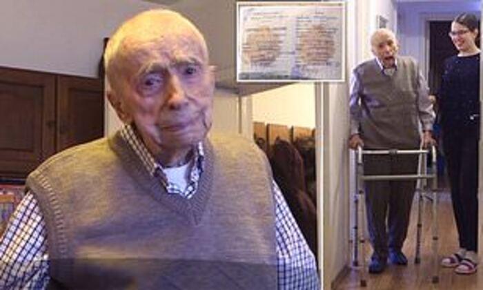 Любовь помогла старейшему мужчине в мире дожить до 111 лет