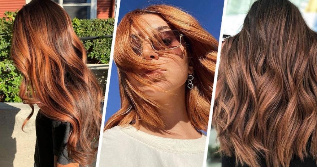 «Корица»   цвет краски для волос, который хорошо подходит для всех оттенков кожи