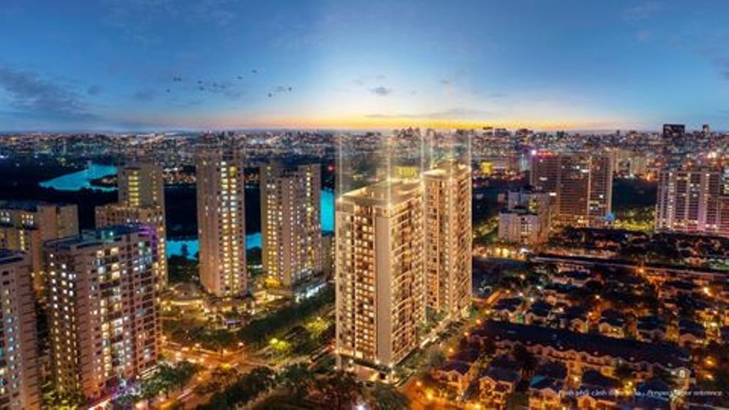Городской шик - иначе не назовешь новый проект социального жилья во Вьетнаме