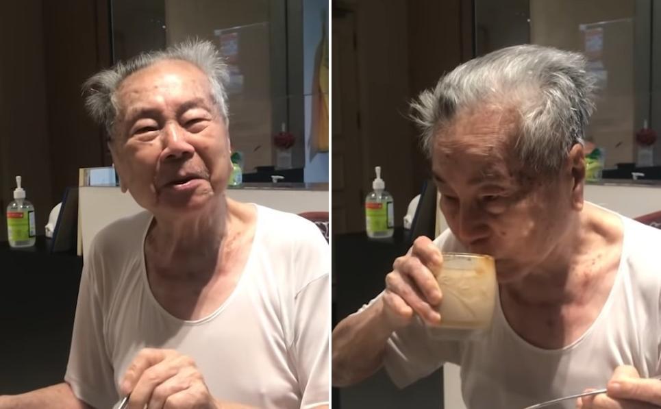 Популярный корейский кофе придется по вкусу не каждому: это подтвердил 91-летний дедушка