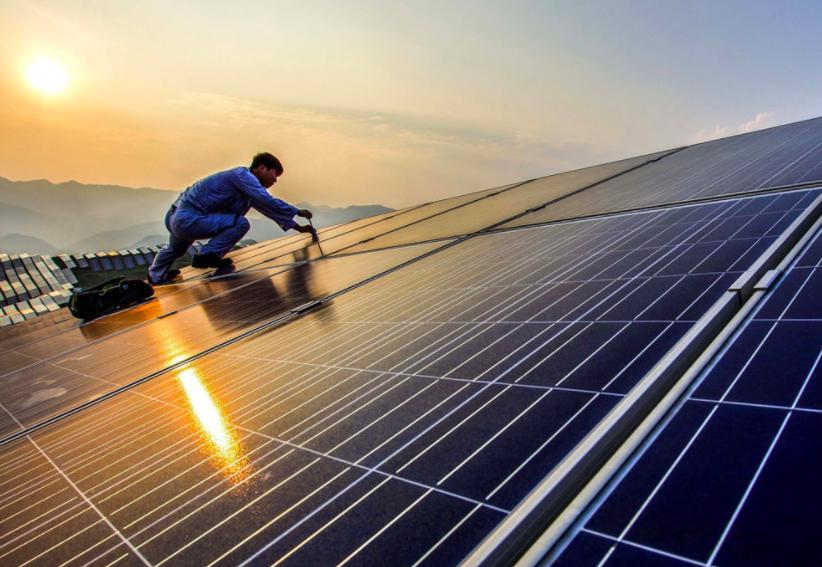 Солнечная ферма в Великобритании: новая крупнейшая солнечная установка