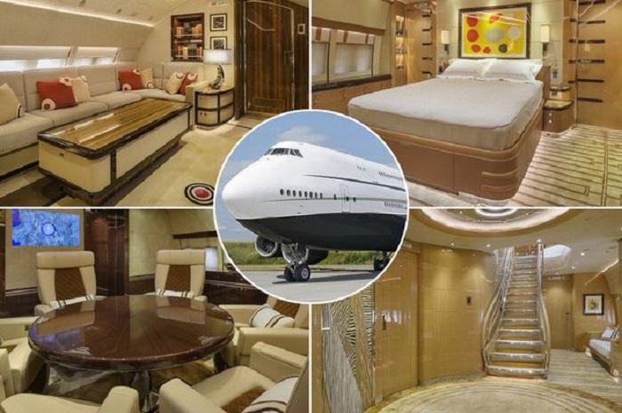 «Летающий дворец» с душевой кабиной: внутри частного самолета с невероятным интерьером (фото)