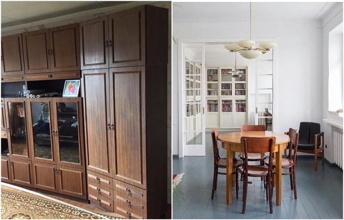 Настенный шкаф и круглый стол: 8 предметов интерьера родом из СССР, которым легко можно подарить вторую жизнь