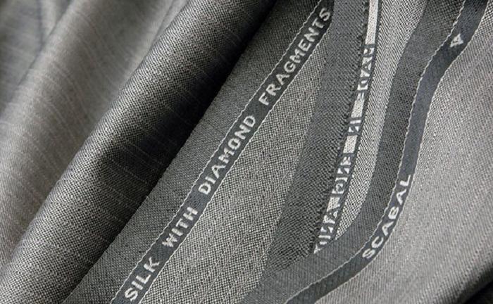 Текстильная компания в Бельгии выпускает ткани с алмазной крошкой