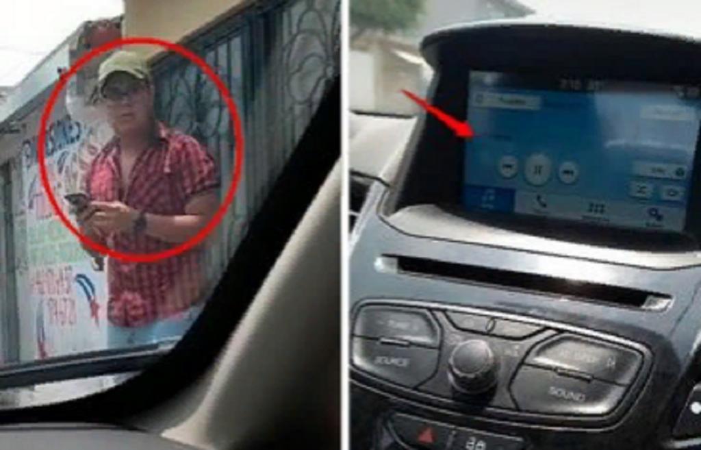 Жена поймала мужа на неверности, когда он вышел из машины, но забыл, что телефон все еще подключен к автомагнитоле