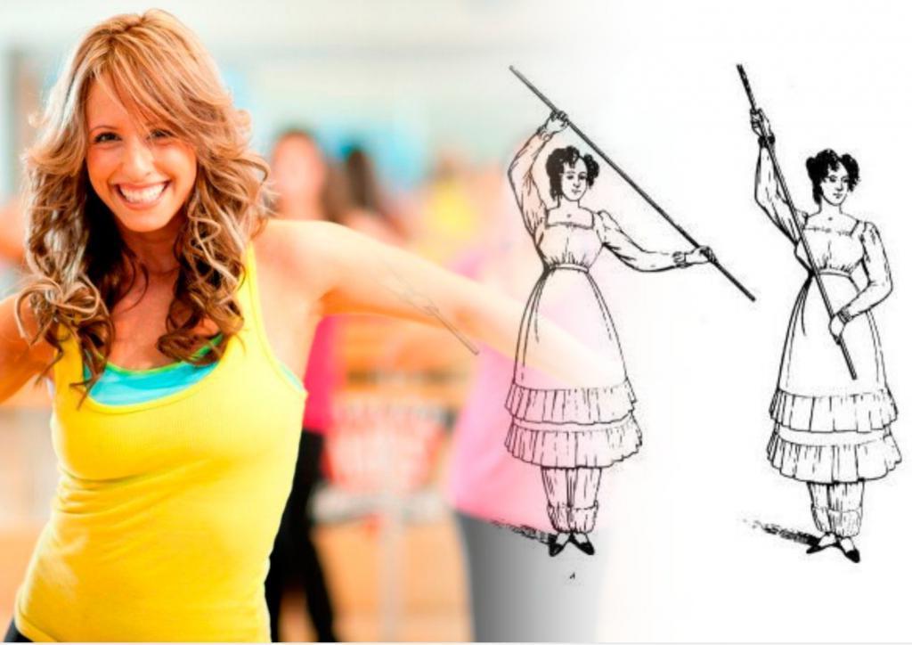 На карантине: занимаемся фитнесом, как женщины викторианской эпохи. Корсет можно не надевать