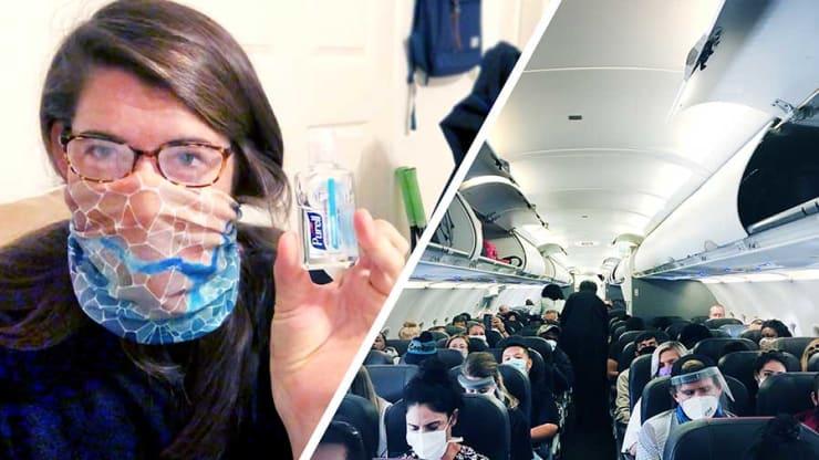 Пролететь почти 5000 км в условиях пандемии: пассажирка рассказала об изменениях на борту и в аэропорту