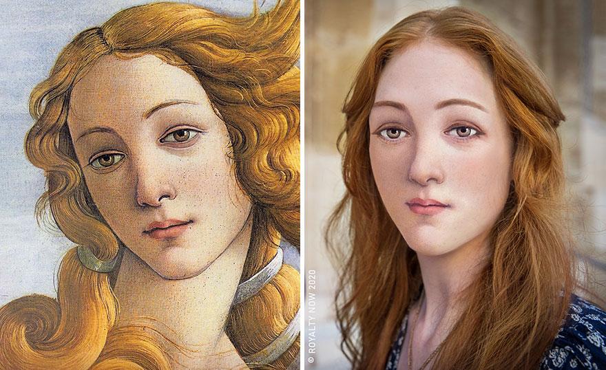 Клеопатра, мадам Помпадур и другие исторические личности. Девушка воссоздает их образ в современном обществе (новые фото)