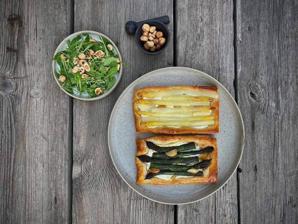 Спаржа и так, и этак: 3 авторских рецепта простых, но в то же время изысканных блюд