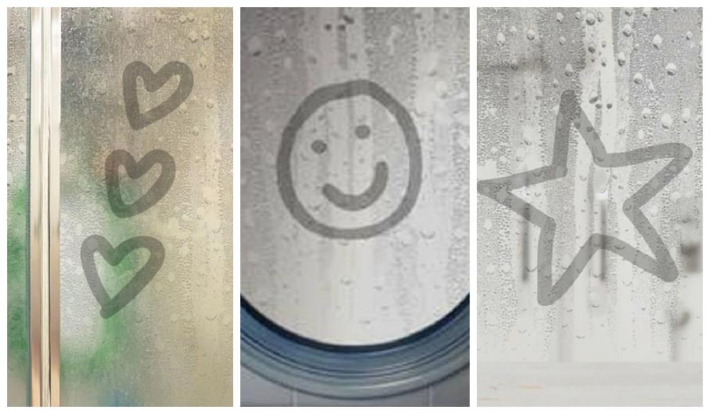 Смайлики, сердечки или звездочки: то, что вы рисуете на зеркале в ванной, может многое рассказать о вашем характере