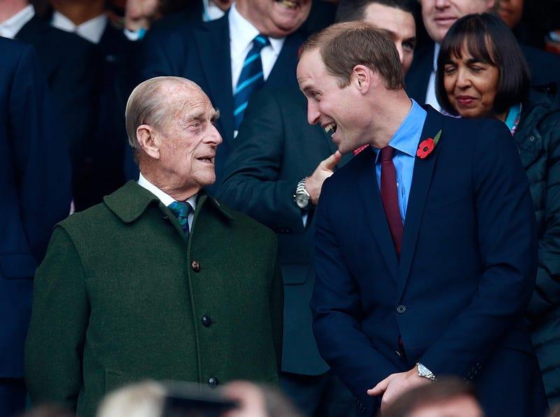 Публика знает его как герцога Эдинбургского: принц Филипп еще и обычный дедушка