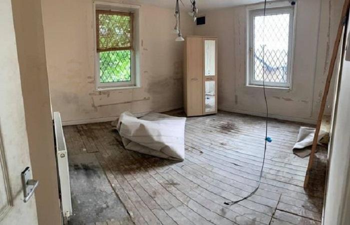 Медсестра купила ветхий дом и превратила его в шикарное жилье, потратив на ремонт лишь 5000 £