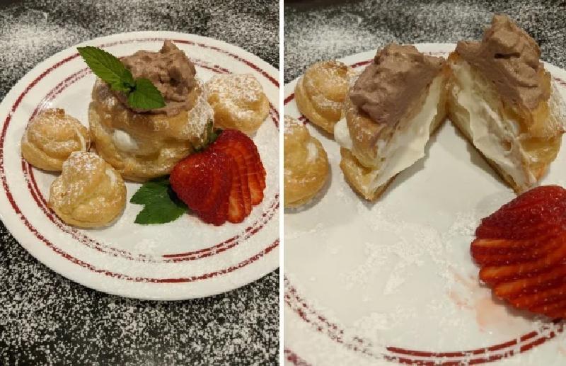 Для своих сладкоежек часто пеку сливочные слойки из заварного теста - это потрясающе вкусный десерт