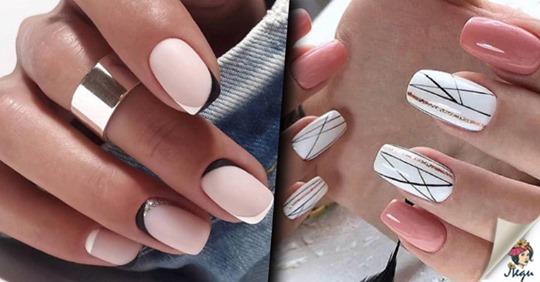 Модный маникюр на квадратные ногти — добавь ярких красок в свою жизнь