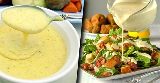 5 самых вкусных соуса для салата: можно забыть о майонезе